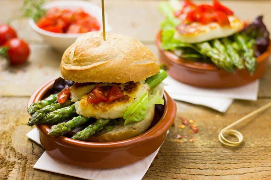 vegetar burger